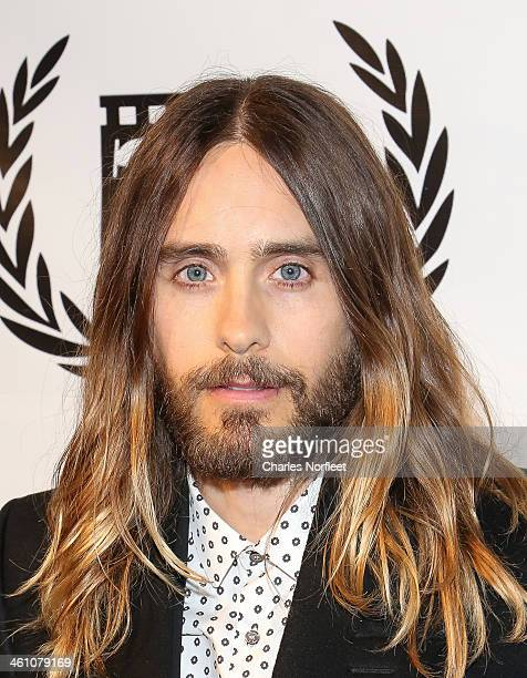 Actor Jared Leto attends the New York Film Critics Circle 2013 Awards Ceremony at The Edison Ballroom on January 6 2014 in New York City