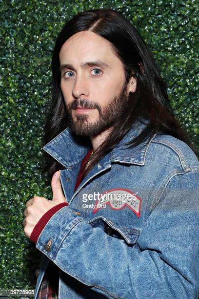 """Actor Jared Leto attends the Tribeca Film Festival after-party for """"A Day In The Life Of America"""" at The Ainsworth FIDI on April 27, 2019 in New York..."""