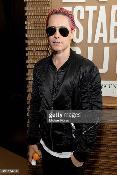 Actor Jared Leto attends the Vanity Fair New Establishment Summit at Yerba Buena Center for the Arts on October 6 2015 in San Francisco California