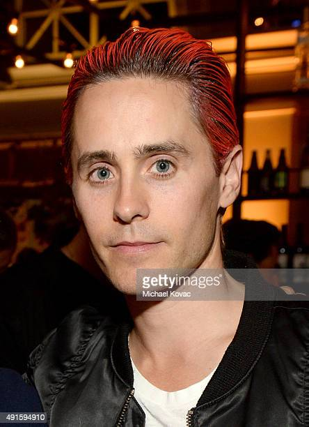 Actor Jared Leto attends the Vanity Fair New Establishment Summit cocktail party at The Ferry Building on October 6 2015 in San Francisco California