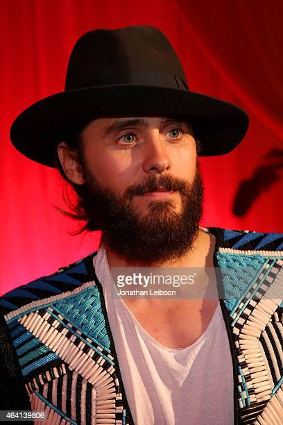Actor Jared Leto attends The Weinstein Company's Academy Awards Nominees Dinner in partnership with Chopard DeLeon Tequila FIJI Water and MAC...