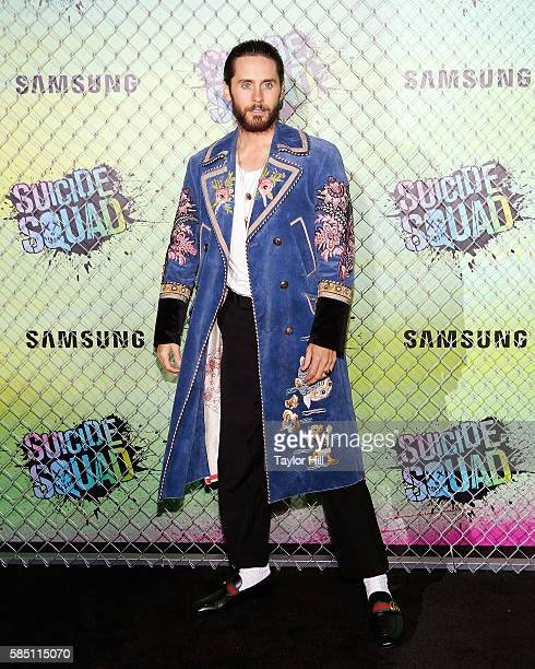 Actor Jared Leto attends the world premiere of 'Suicide Squad' at The Beacon Theatre on August 1 2016 in New York City