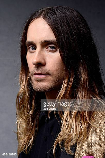 Actor Jared Leto poses for a portrait at the 86th Academy Awards nominee luncheon at The Beverly Hilton Hotel on February 10 2014 in Beverly Hills...