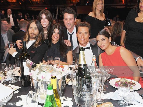 Actor Jared Leto, producer Rachel Winter, President of Production at Relativity Media Robbie Brenner, writer Craig Borten, actor Matthew McConaughey...