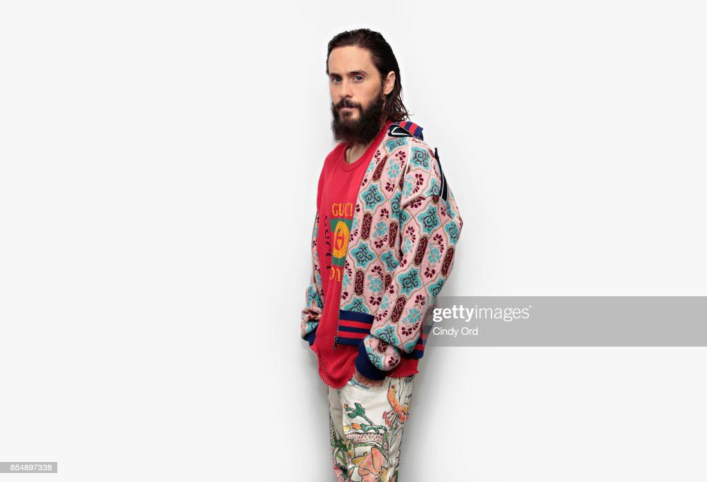 Actor Jared Leto visits the SiriusXM Studios on September 27, 2017 in New York City.