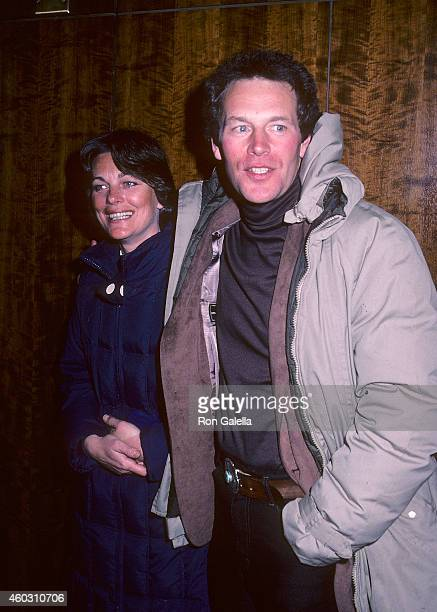 Actor Jared Martin and wife Carol Vogel attend the WrapUp Parties for the Fifth Season of Dallas and the Third Season of Knots Landing on February 6...