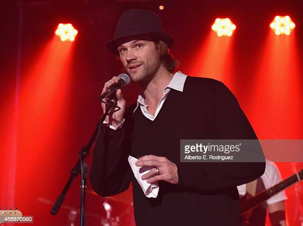 Actor Jared Padalecki attends the CW's Fan Party to Celebrate the 200th episode of Supernatural on November 3 2014 in Los Angeles California