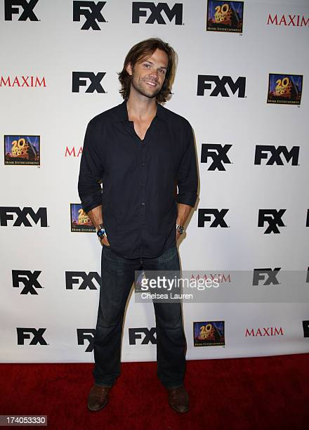 Actor Jared Padalecki attends the Maxim FX and Home Entertainment ComicCon Party on July 19 2013 in San Diego California