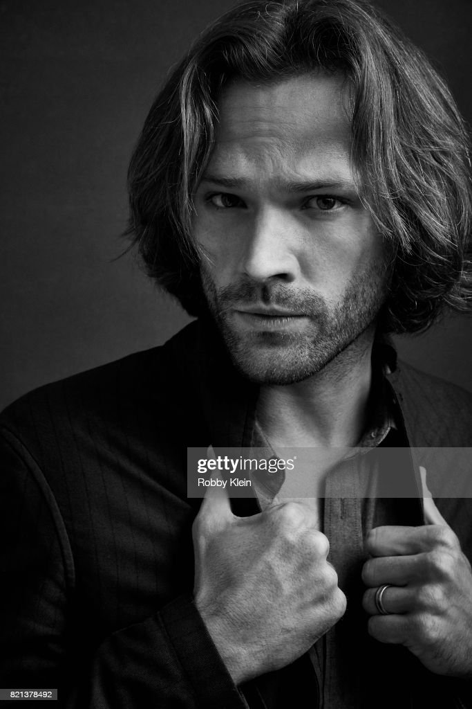 Actor Jared Padalecki from CW's 'Supernatural' poses for a portrait during Comic-Con 2017 at Hard Rock Hotel San Diego on July 21, 2017 in San Diego, California.