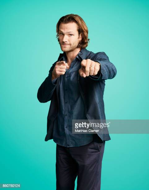 Actor Jared Padalecki from Supernatural is photographed for Entertainment Weekly Magazine on July 21 2017 at Comic Con in San Diego California...