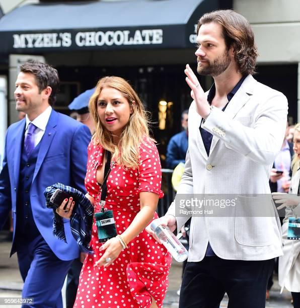 Actor Jared Padalecki is seen walking in Midtown on May 17 2018 in New York City