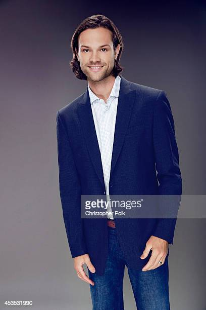 Actor Jared Padalecki poses for a portrait at the CW network panel at the Summer 2014 TCAs on July 18 2014 in Beverly Hills California