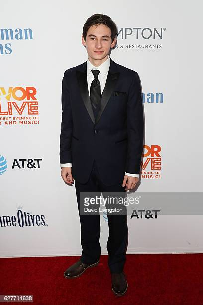 Actor Jared S Gilmore arrives at the TrevorLIVE Los Angeles 2016 Fundraiser at The Beverly Hilton Hotel on December 4 2016 in Beverly Hills California