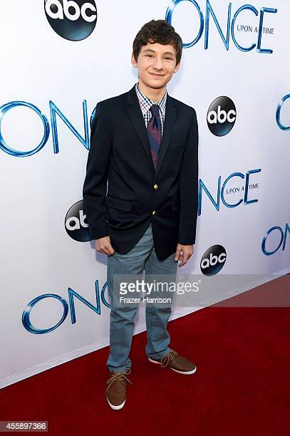 Actor Jared S Gilmore attends a screening of ABC's 'Once Upon A Time' Season 4 at the El Capitan Theatre on September 21 2014 in Hollywood California