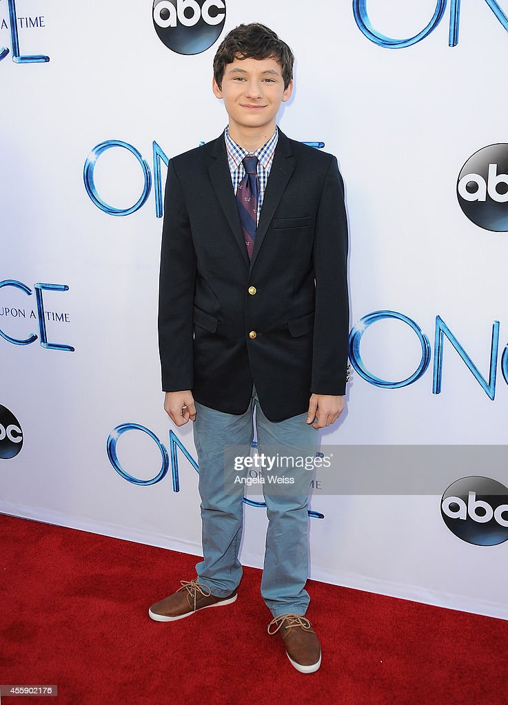 Actor Jared S. Gilmore attends ABC's 'Once Upon A Time' Season 4 red carpet premiere at the El Capitan Theatre on September 21, 2014 in Hollywood, California.