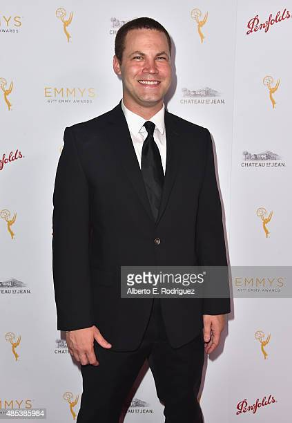 Actor Jared Safier attends a cocktail reception hosted by the Academy of Television Arts Sciences celebrating the Daytime Peer Group at Montage...