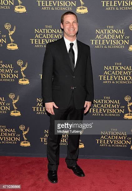 Actor Jared Safier attends the 42nd Annual Daytime Creative Arts Emmy Awards at Universal Hilton Hotel on April 24 2015 in Universal City California