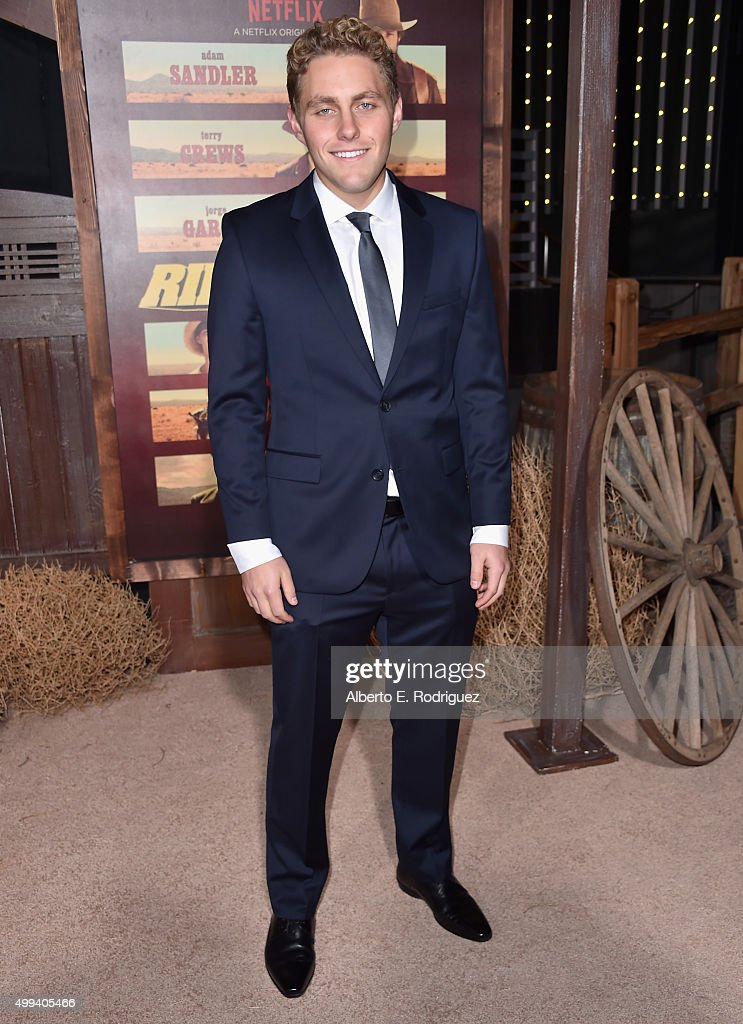 Actor Jared Sandler attends the premiere of Netflix's 'The Ridiculous 6' at AMC Universal City Walk on November 30, 2015 in Universal City, California.