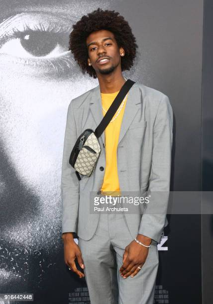 Actor Jarrett Ellis attends the premiere of Lionsgate's 'All Eyez On Me' on June 14 2017 in Los Angeles California