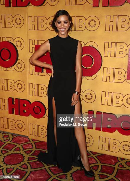 Actor Jasmin Savoy Brown attends HBO's Post Emmy Awards Reception at The Plaza at the Pacific Design Center on September 17 2017 in Los Angeles...