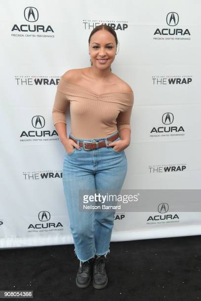 Actor Jasmine Cephas Jones of 'Blindspotting' attends the Acura Studio at Sundance Film Festival 2018 on January 20 2018 in Park City Utah