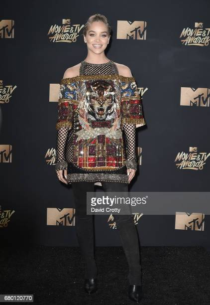 Actor Jasmine Sanders attends the 2017 MTV Movie And TV Awards at The Shrine Auditorium on May 7 2017 in Los Angeles California