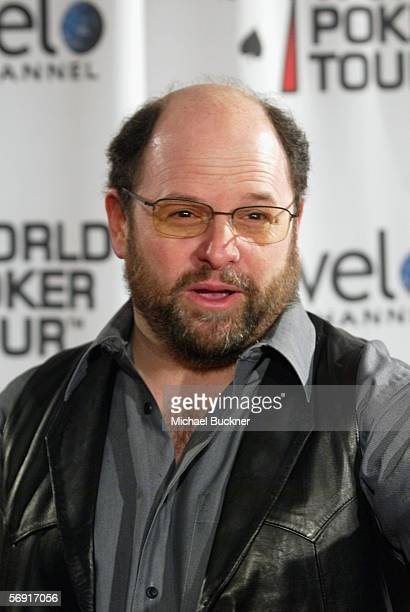 Actor Jason Alexander arrives at the World Poker Tour Invitational at the Commerce Casino on February 22 2006 in Los Angeles California