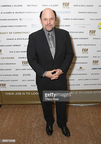 Actor Jason Alexander attends Friends Of The Israel Defense Forces Western Region Gala at The Beverly Hilton Hotel on November 5 2015 in Beverly...