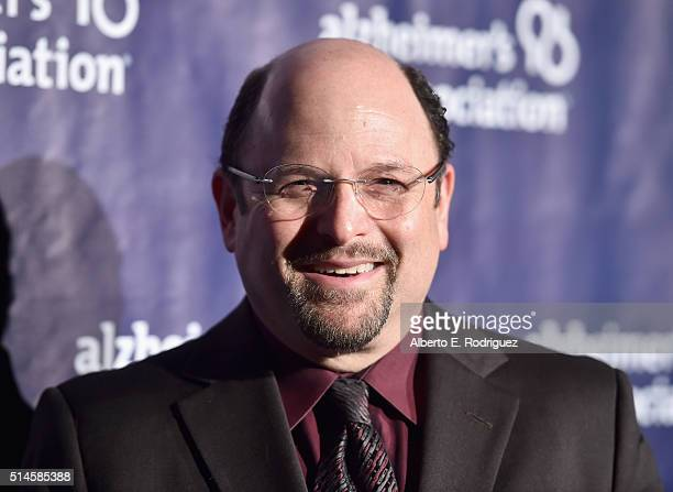 Actor Jason Alexander attends the 24th and final A Night at Sardi's to benefit the Alzheimer's Association at The Beverly Hilton Hotel on March 9...