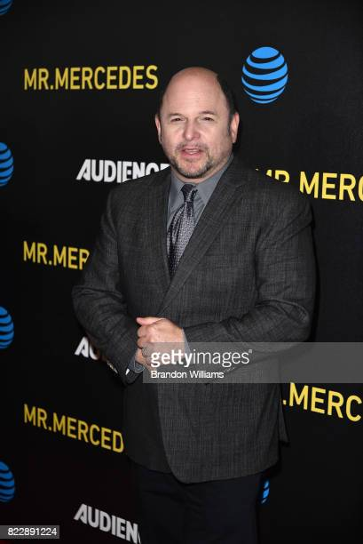 Actor Jason Alexander attends the ATT AUDIENCE Network Summer TCA Panels for Mr Mercedes at The Beverly Hilton Hotel on July 25 2017 in Beverly Hills...