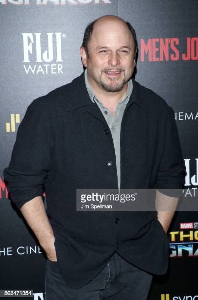 Actor Jason Alexander attends the screening of Marvel Studios' 'Thor Ragnarok' hosted by The Cinema Society with FIJI Water Men's Journal and...