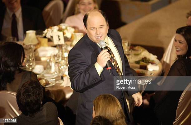 Actor Jason Alexander hosts the 8th Annual Critics' Choice Awards at the Beverly Hills Hotel on January 17 2003 in Beverly Hills California The...
