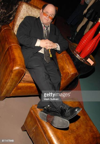 Actor Jason Alexander in Backstage Creations poses at the 2008 Academy of Country Music Awards held on May 18 2008 in Las Vegas Nevada