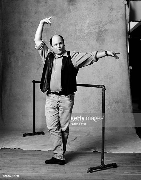 Actor Jason Alexander is photographed for Venice Magazine on February 1 2003 in Los Angeles California