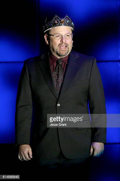 Actor Jason Alexander performs onstage during the 24th and final A Night at Sardi's to benefit the Alzheimer's Association at The Beverly Hilton...