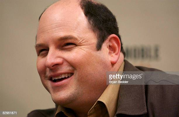 Actor Jason Alexander signs copies of his new book Dad Are You The Tooth Fairy at Barnes and Nobles in Rockefeller Plaza on May 19 2005 in New York...