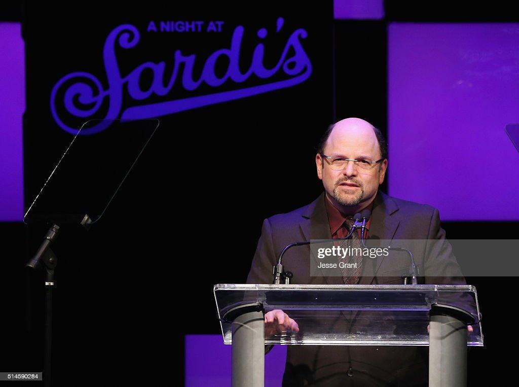 """2016 Alzheimer's Association """"A Night At Sardi's"""" - Show : News Photo"""