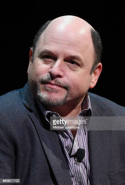 Actor Jason Alexander takes part in a SAGAFTRA Foundation Conversations On Broadway at SAGAFTRA Foundation Robin Williams Center on December 1 2017...
