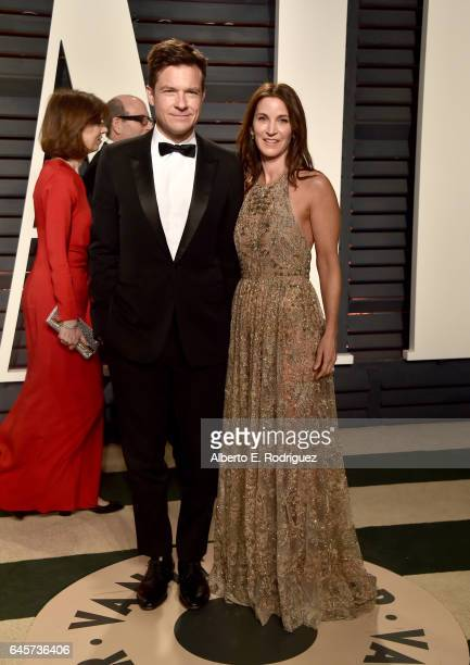 Actor Jason Bateman and actress Amanda Anka attend the 2017 Vanity Fair Oscar Party hosted by Graydon Carter at Wallis Annenberg Center for the...