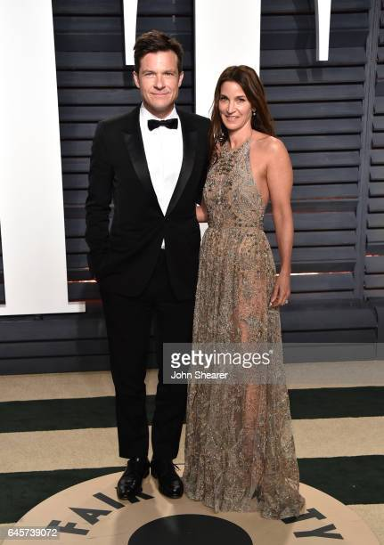 Actor Jason Bateman and Amanda Anka attend the 2017 Vanity Fair Oscar Party hosted by Graydon Carter at Wallis Annenberg Center for the Performing...