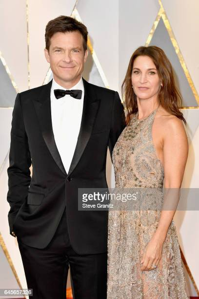 Actor Jason Bateman and Amanda Anka attend the 89th Annual Academy Awards at Hollywood Highland Center on February 26 2017 in Hollywood California