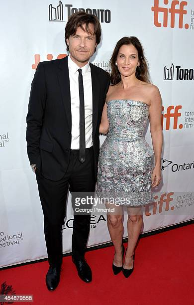Actor Jason Bateman and Amanda Anka attend the This Is Where I Leave You premiere during the 2014 Toronto International Film Festival at Roy Thomson...