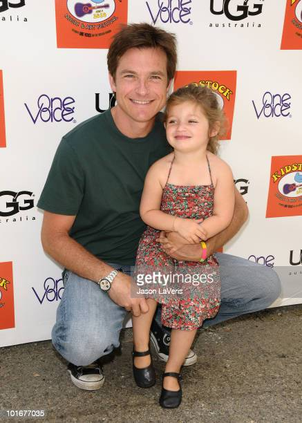Actor Jason Bateman and daughter Francesca Bateman attend the 4th annual Kidstock Music Arts Festival at Greystone Mansion on June 6 2010 in Beverly...