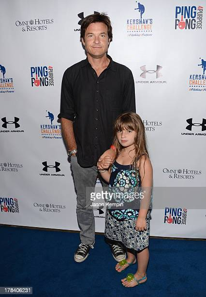 Actor Jason Bateman and daughter Francesca Nora Bateman attend the Clayton Kershaw's Inaugural Ping Pong 4 Purpose Charity Event Benefitting...