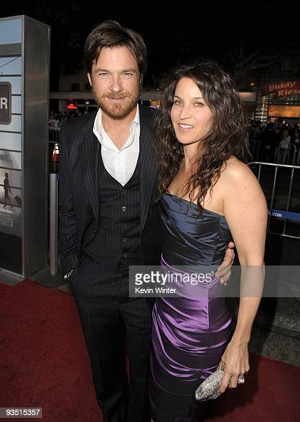 Actor Jason Bateman and his wife Amanda Anka arrive at the premiere of Paramount Pictures' Up In The Air held at Mann Village Theatre on November 30...