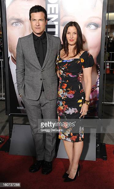 """Actor Jason Bateman and wife Amanda Anka arrive at the """"Identity Thief"""" Los Angeles premiere at Mann Village Theatre on February 4, 2013 in Westwood,..."""