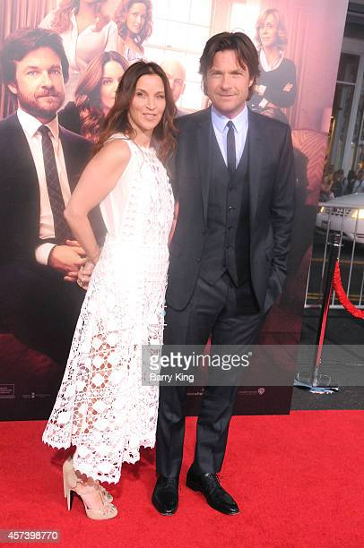 Actor Jason Bateman and wife Amanda Anka arrive at the Los Angeles Premiere 'This Is Where I Leave You' at TCL Chinese Theatre on September 15 2014...