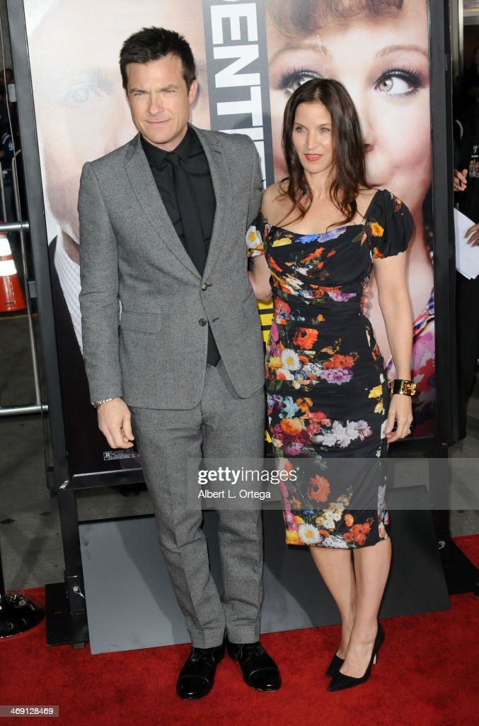 Actor Jason Bateman and wife Amanda Anka arrive for the Premiere Of Universal Pictures' 'Identity Thief' held at Mann Village Theater on February 4, 2013 in Westwood, California.