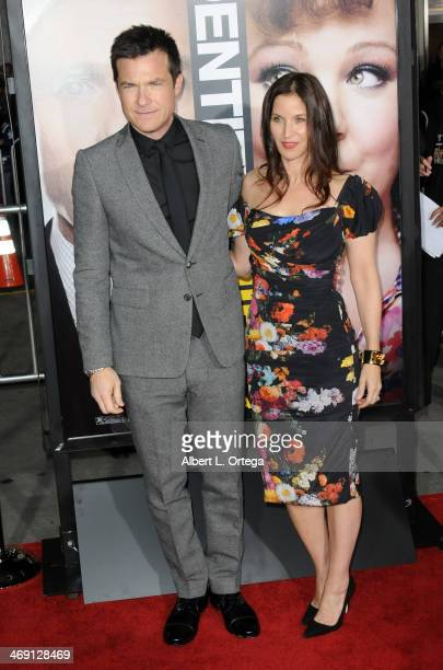 """Actor Jason Bateman and wife Amanda Anka arrive for the Premiere Of Universal Pictures' """"Identity Thief"""" held at Mann Village Theater on February 4,..."""