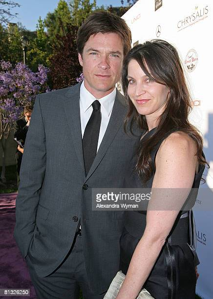 Actor Jason Bateman and wife Amanda Anka arrives at the 7th Annual Chrysalis Butterfly Ball held at a private residence on May 31 2008 in Los Angeles...